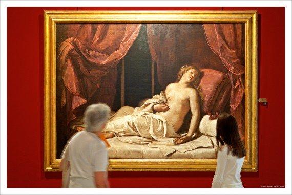 Cleopatra morente, una tela del Guercino nelle sale di Palazzo Rosso