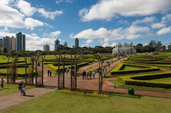 Curitiba, città Brasile shutterstock_288033671