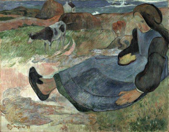 Gauguin_ragazzabretone