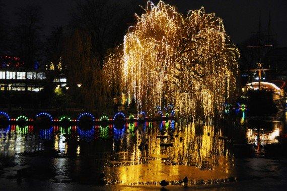 Parco Tivoli Capodanno a Copenaghen