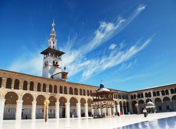 moschea degli Omayyadi, Damasco shutterstock_143635795