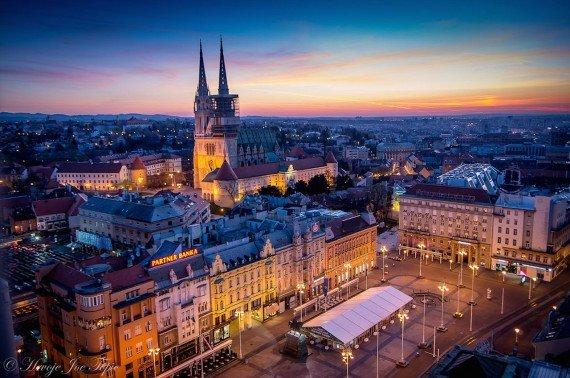 Zagabria cosa vedere Zagreb Eye