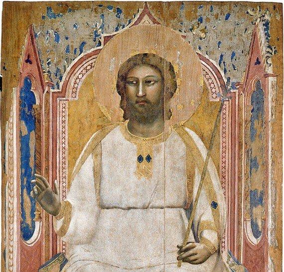 7. Dio Padre in trono mostra Giotto a Milano