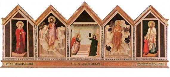 Polittico di Santa Reparata mostra Giotto Milano