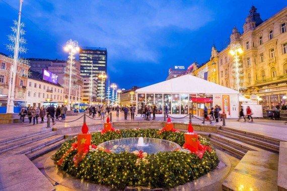 Zagabria piazza Ban Jelacic CREDIT_Julien Duval_Zagreb Tourist Board