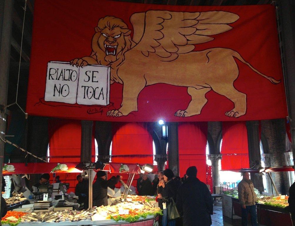 mercato pesce di Rialto, cosa vedere a venezia