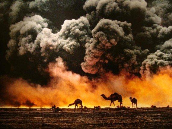 guerra del golfo le più belle foto di Steve McCurry mostra fotografica in Italia