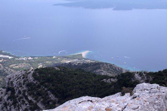 L'isola di Brac, davanti a Spalato