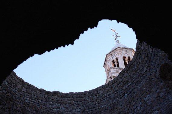 Scorcio del Palazzo di Diocleziano, Split.