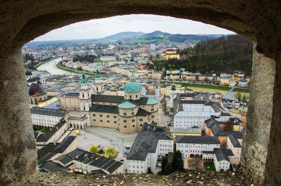 Fortezza di Salisburgo, Austria shutterstock_239794609