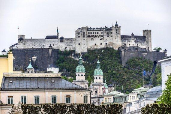 Fortezza di Salisburgo, Austria  shutterstock_275347418
