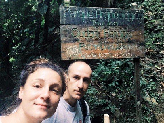 Strada verso la Ciudad Perdida- Rocco & Giulia