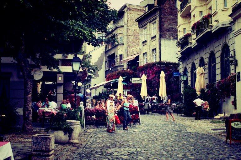Mangiare vegetariano a Belgrado