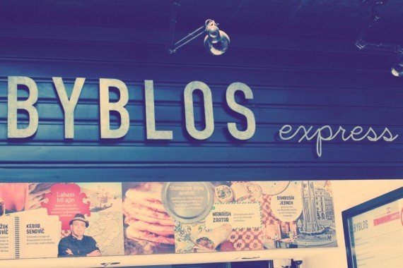 insegna della Byblos (express)