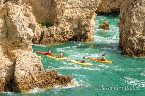 lagos in kayak