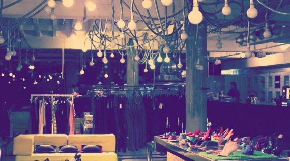Gli interni del Supermarket. Dove mangiare a Belgrado
