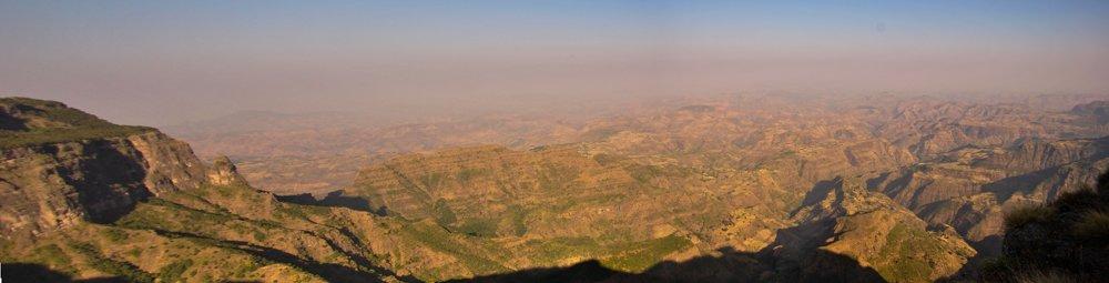 panorama Etipopia