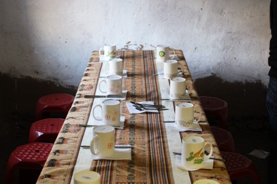 colazione in Perù