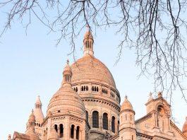 Basilica basilica del sagrado corazon de montmartre Francia
