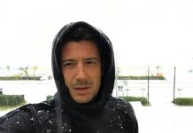 Christian cappello sotto la neve #marta4kids