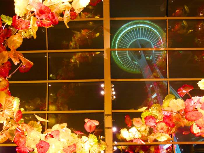 chihuly garden and glass museum _photo by michela crosa .seattle