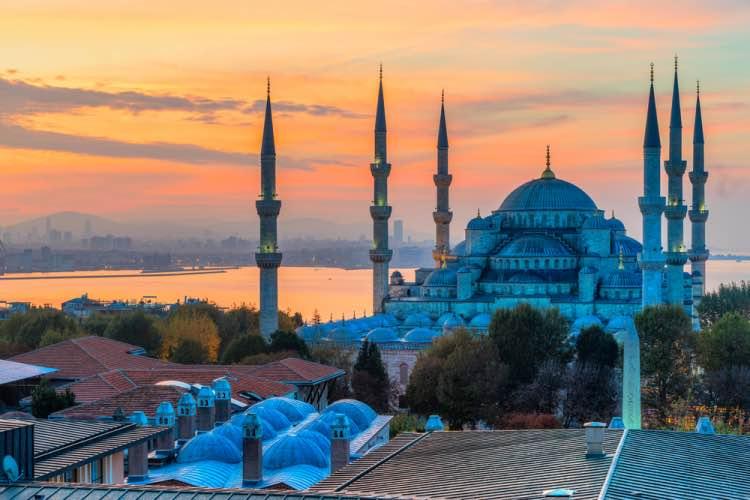 moschea blu guida a istanbul