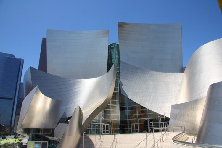 Disney Concert Hall Los Angeles cosa vedere