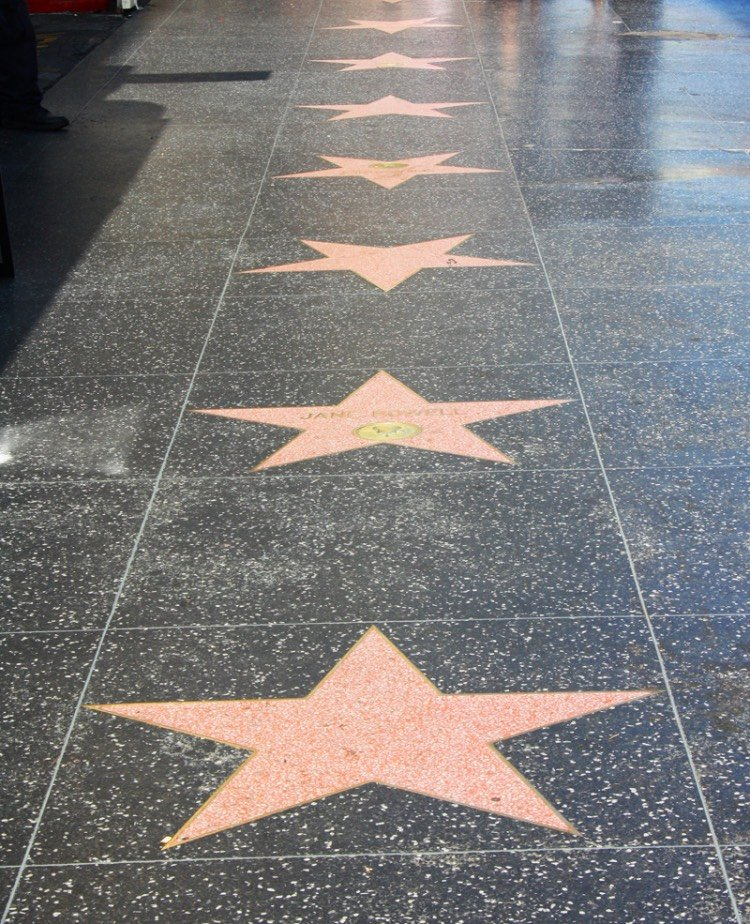 Stelle WALK OF FAME LOS ANGELES