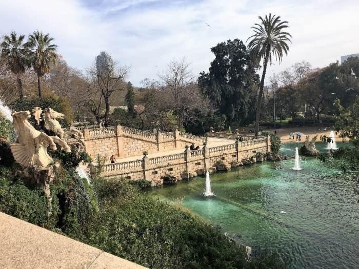 Parc de la Ciutadella e la Cascada