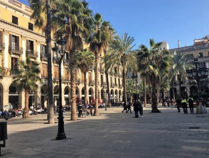 Reial - Barcellona itinerario Gaudì