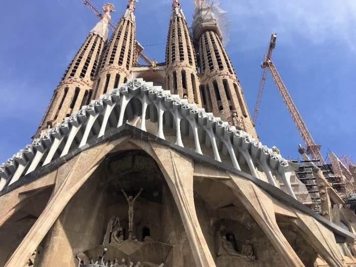 La Sagrada Família itinerario Gaudì