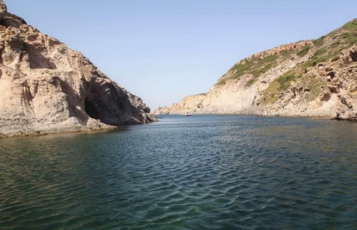 Cala Vinagra, Isola di San Pietro