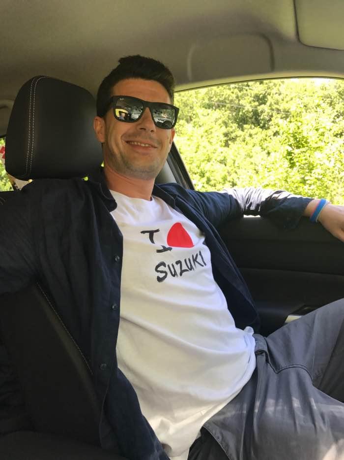 Raduno Suzuki 4 X 4 Christian Cappello