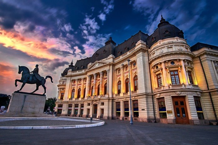 Weekend a Bucarest 2 persone hotel 5 stelle volo andata e ritorno 149 Euro