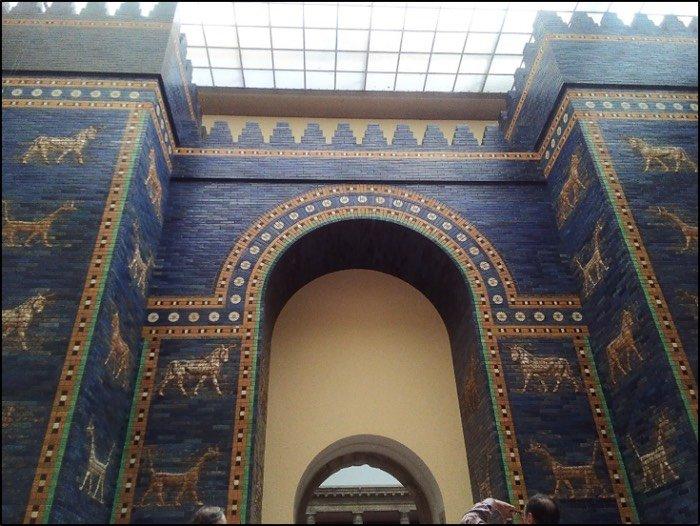 porta di Ishtar del palazzo babilonese