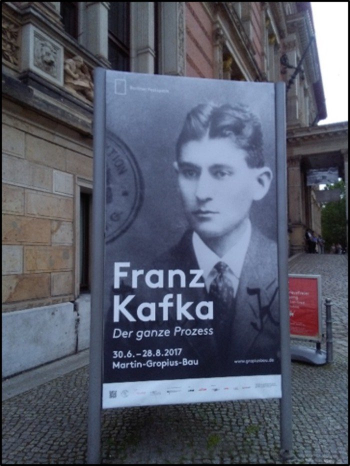Franz Kafka museo berlino
