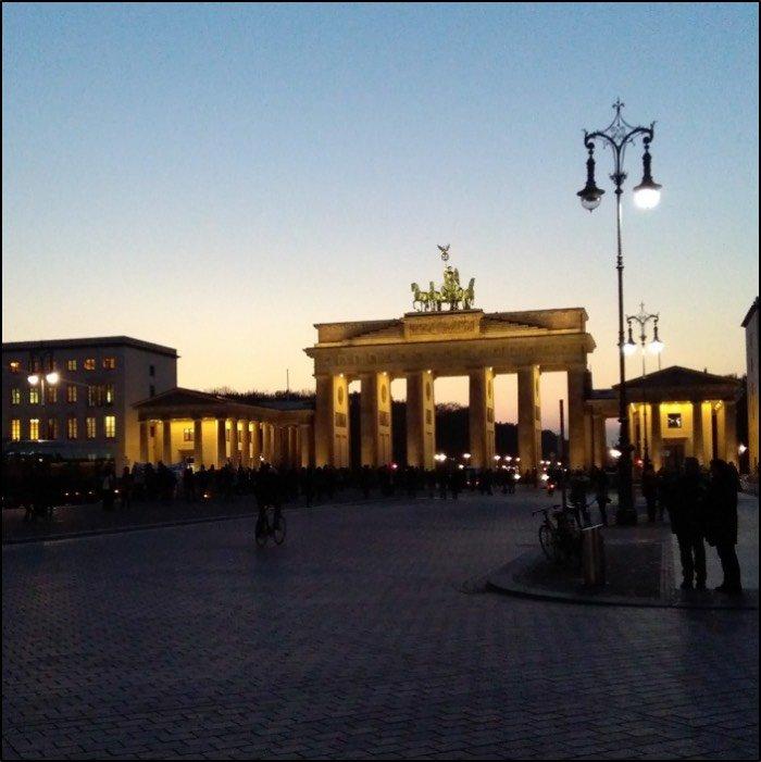 Denkmal für die ermordeten Juden Europas Berlino