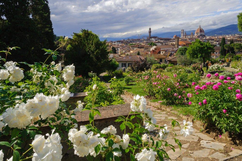 Giardino delle rose Firenze foto di www.shutterstock.com