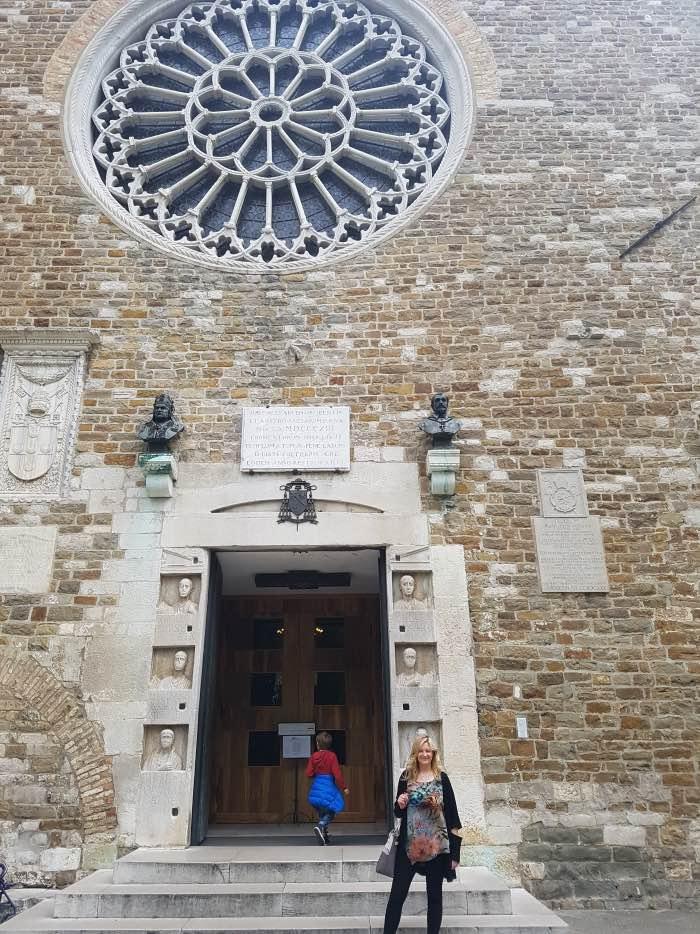 San Giusto trieste castello e cattedrale