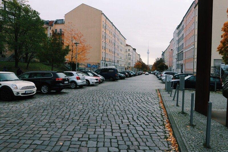 Bernauer Strasse berlino