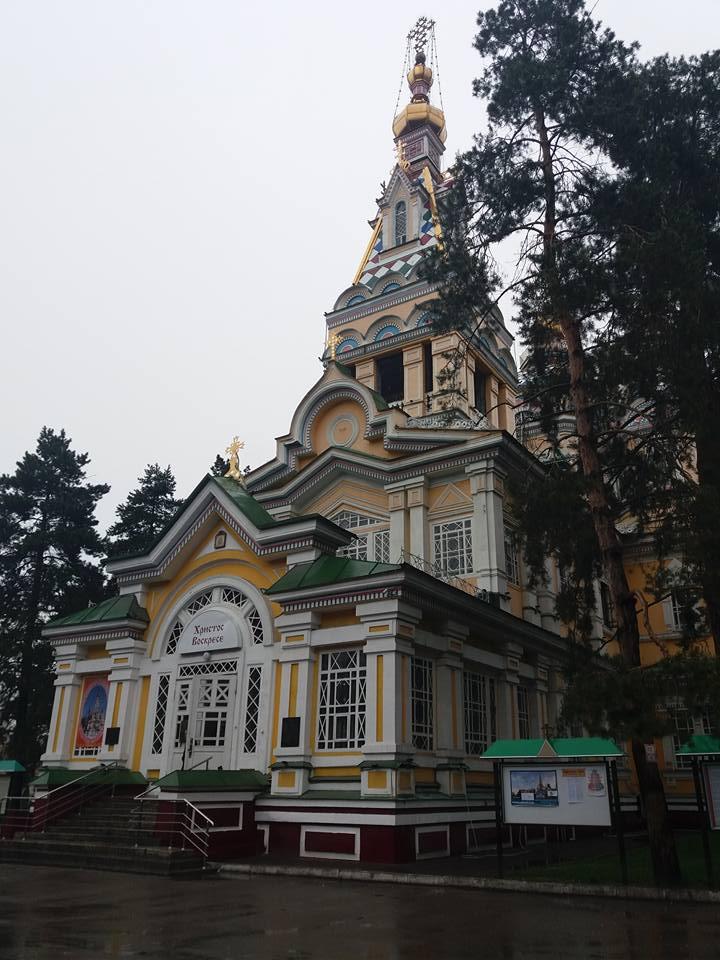 Cattedrale dell'Ascensione Almaty cosa vedere