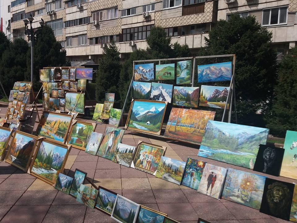 Almaty artisti di strada