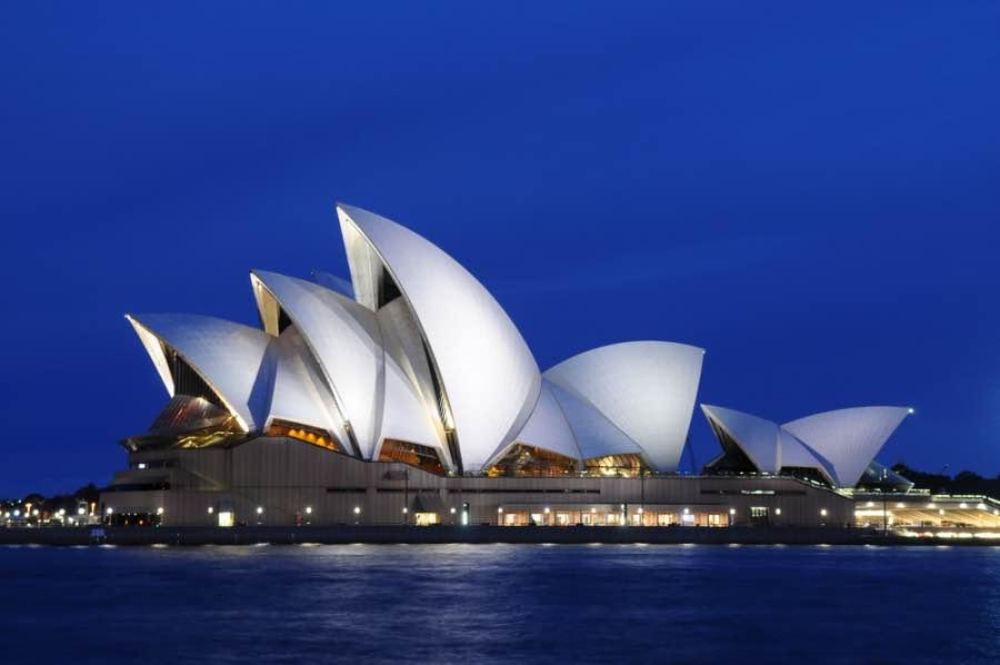 Opera house Sydney in un giorno