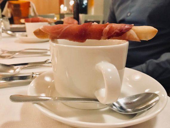 Cappuccino Castage e spek