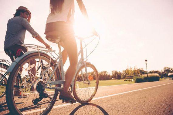 In bicicletta a Jesolo