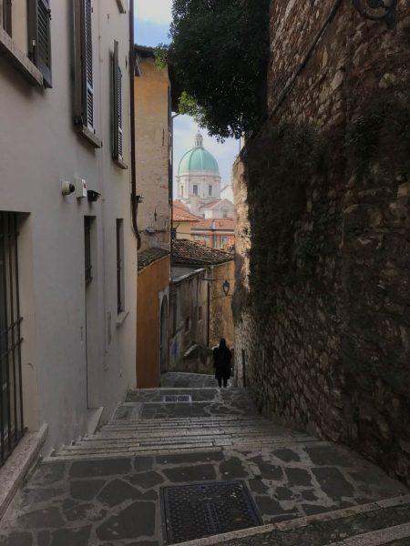 Stardine di Brescia verso il castello