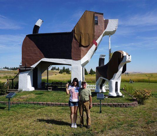 SILVIA E DENIS hotel strani a forma di beagle