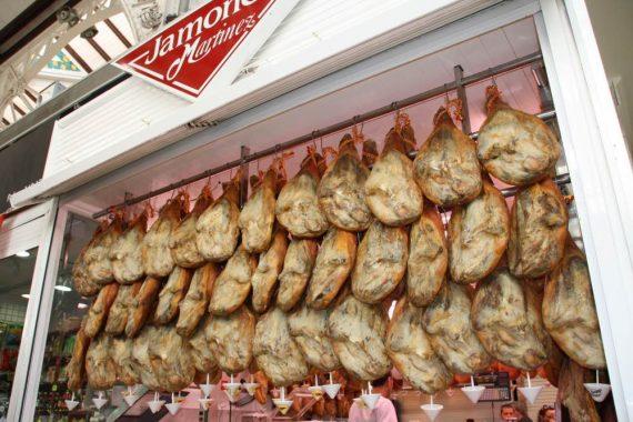 jamon al Mercado Central (1)