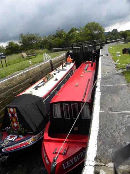 doppia fila barche Yorkshire