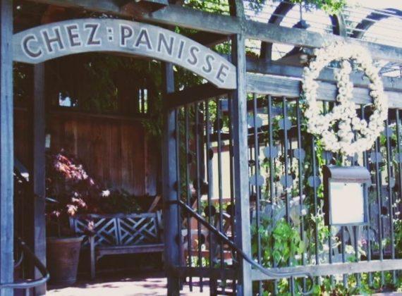 Insegna di Chez Panisse